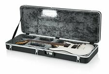 Gator Cases Deluxe ABS Molded Case for Strat/Tele Style Electric Guitar with ...
