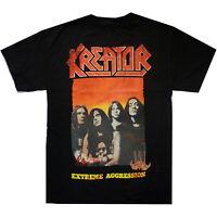 Kreator Extreme Aggression Shirt S-XL T-shirt Thrash Metal Band Official Tshirt