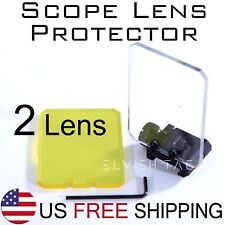 Sight Lens Protector For Airsoft Picatinny Rail Mount Prot. Scope Red Dot Sight