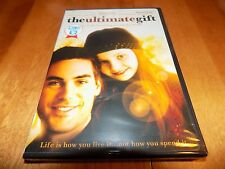 THE ULTIMATE GIFT Drew Fuller James Garner Abigail Breslin Brian Dennehy DVD NEW