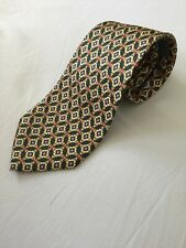 Bally Classic Vintage Silk Tie Hans Made In Italy In Excellent Condition