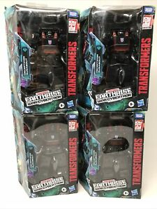 TRANSFORMERS GENERATIONS EARTHRISE RUNABOUT TARGET EXCLUSIVE LOT OF 4 WFC DELUXE