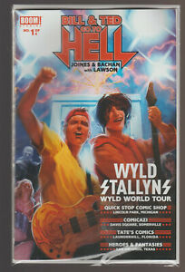 Bill and Ted Go To Hell Wyld Stallyns World Tour comic book Pub. 2016 Boom!