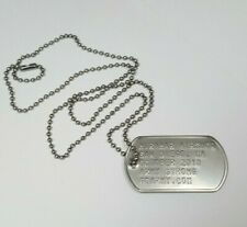 Miramar Airshow San Diego, CA October 2010 Army Strong Dog Tag Necklace
