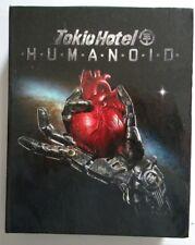 TOKIO HOTEL HUMANOID DE LUXE EDITION + FLAG COFANETTO CD + DVD NUOVO