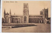 D8415cgt UK Durham Cathedral North vintage postcard
