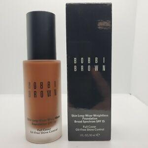 Bobbi Brown Skin Long-Wear Weightless Foundation Spf15 ( 8 Walnut)1oz EGXR-08