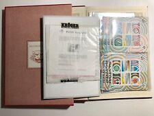 1990 Libro Folder Francobolli Buca Lettere da Montare con Foglietto Chaplin 3568