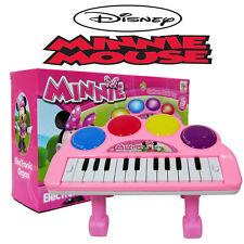 DISNEY MICKEY MINNIE KIDS ELECTRONIC PIANO KEYBOARD ORGAN EDUCATION MUSICAL TOY
