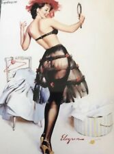 Gil Elvgren Pinup 4x6 Print Model Retro Art - Vivid Colours