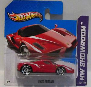 Rare Short Card Hot Wheels 2012 ENZO Ferrari  #178/250 HW Showroom Sports Car