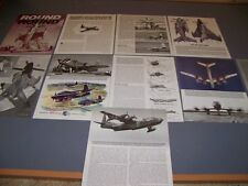 VINTAGE..CONTRA-ROTATING TURBOPROPS HISTORY..HISTORY/PHOTOS/DETAILS.RARE! (743K)