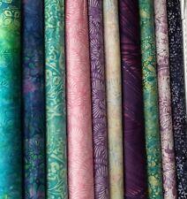 CASCADE Batiks Fabric Pack remnants patchwork bundle 100% cotton