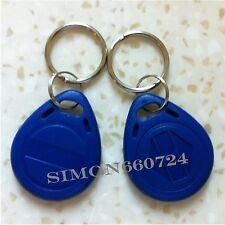 RFID 125KHz Writable Rewrite EM4305 keyfobs Proximity Access tag keyfobs -10pcs