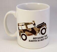 Personalised Land Rover Defender Mug, Birthday Christmas Gift, Landy Cartoon