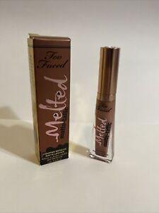 Too Faced Melted Matte-tallic Liquified Metallic Matte Lipstick Faking It NEW
