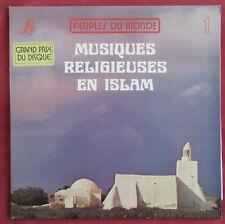 MUSIQUES RELIGIEUSES EN ISLAM  LP ORIG FR