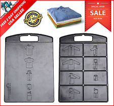 Dress T Shirt Clothes Flip And Fold Folder Board Easy Laundry Organizer Tools