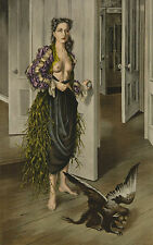 DOROTHEA TANNING - BIRTHDAY - Hand Signed and Numbered Ltd Ed. Color Lithograph
