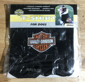 Harley-Davidson Black Dog Puppy Shirt - Size Small