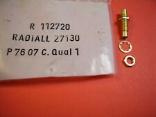 [1pc] RADIALL R112720 50 ohm SMC MALE-MALE ADAPTOR 10GHz RF CONNECTOR