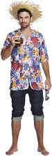 Hawaiian Party Patterned Shirt Aloha Hawaii Stag Mens Fancy Dress P8420