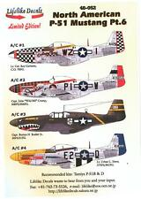 Lifelike Decals 1/48 NORTH AMERICAN P-51 MUSTANG Fighter Part 6