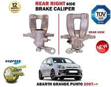Per FIAT ABARTH GRANDE PUNTO 199 1.4 2007 - > Nuovo Posteriore Lato Destro Pinza Freno