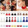 Women Fashion Jewelry Bohemian Earrings Long Tassel Fringe Boho Dangle Earrings