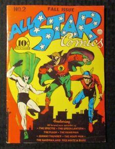1974 FLASHBACK #13 FN 6.0 Reprint All Star Comics #2 Green Lantern / Hawkman