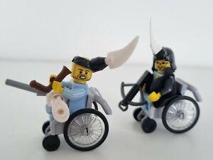 The KLF Jams Perou based MOC Lego Wheelchair Minifigures 2K F*** The Millennium