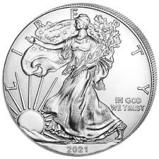 Silber Eagle 2021 1 OZ Unze Ounce Once Silver Argent USA US American États-Unis