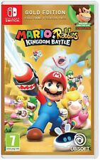 Mario and Rabbids Kingdom Battle Gold Edition (Switch) New & Sealed UK PAL