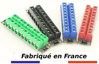 Borniers de distribution électrique à vis modélisme arcade émulateurs etc France