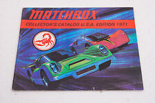 Matchbox 1971 Collector's Cars Catalog USA Booklet (C5R) Scorpion