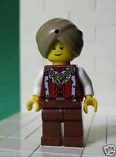 Lego Figur Adventurers - Schlangenbeschwörer / Snake Charmer für Set 9349