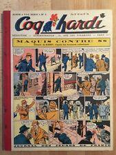 COQ HARDI - Reliure Editeur numéro 3 (du 42 au 54) - 1947 - TBE/NEUF