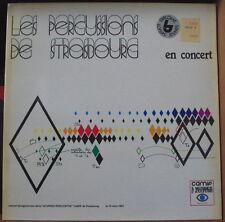 """LES PERCUSSIONS DE STRASBOURG EN CONCERT """"JOURNEE RENCONTRE CAMIF"""" FRENCH LP"""