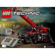 Lego Technic 42082 Rough Terrain Crane Instruction Booklets Manuals - NEW