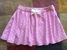 Gymboree Girls Toddler Purple Polka Dot Skirt Size 4T