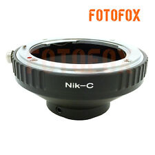 AI-C Camera Adapter For Nikon F Mount Lens To 16mm C Mount Film Movie Adapter