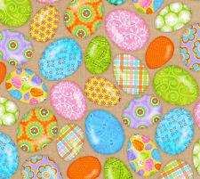 Easter Eggs Carrot Patch Sharla Fults Studio E Fabrics Cotton Quilt Fabric