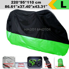 L Waterproof Motorcycle Cover For Kawasaki Ninja EX250 300 EX500 EX650 Ninja 636