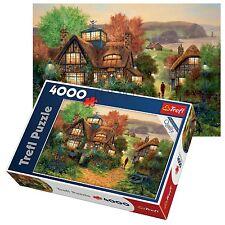 TREFL 4000 PIÈCE adulte GRAND NAVIGATEURS repos Cottage Vieux Enfant Puzzle de