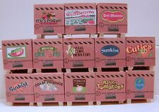 Pallet of produce set of 12  your choice of names