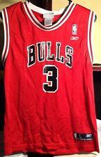 Tyson Chandler #3 Chicago Bulls Basketball Jersey Youth Large Boys