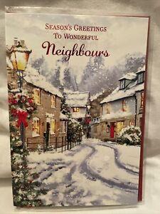 Christmas Card Neighbours / neighbours Christmas cards - 6 styles