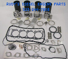 Isuzu NPR/NQR/NRR & GM-W series 04-up 5.2 4HK1 premium engine kit + oil pump