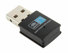 Mini USB 300mbps Wi-Fi Wireless Adaptor 802.11 B G N LAN Network Dongle