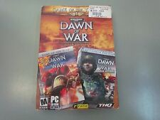 DAWN OF WAR WINTER ASSAULT WARHAMMER PC CD ROM GOLD COMPLETE KEY CODE 4 DISCS